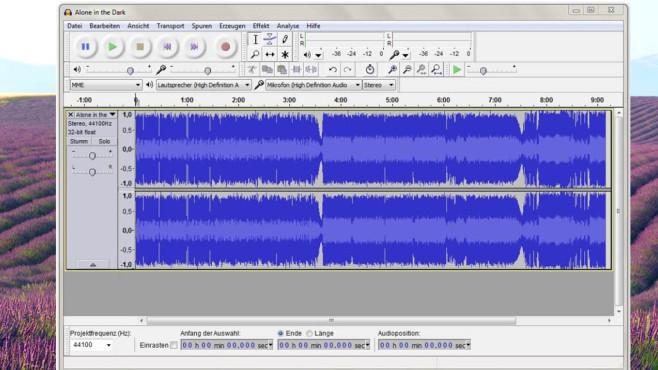 Audacity: Musik bearbeiten, Ton aufnehmen