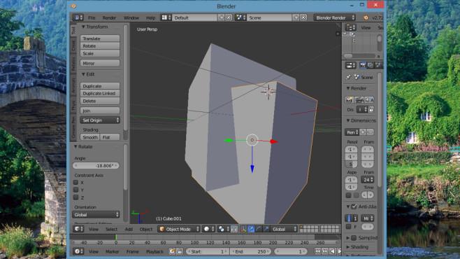 Blender: Animierte 3D-Objekte erstellen
