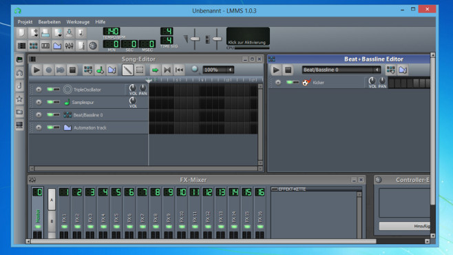 LMMS (Linux MultiMedia Studio):