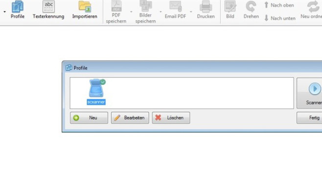 NAPS2 (Not Another PDF Scanner): Papiere digitalisieren ©COMPUTER BILD