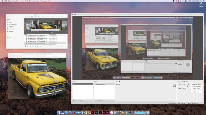 OBS Studio (Open Broadcaster Software): Live streamen ©COMPUTER BILD