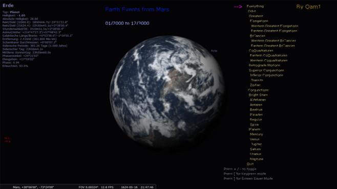 Stellarium: Weltraum erforschen
