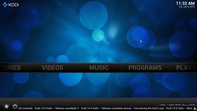 XBMC: Mediendateien verwalten und abspielen ©COMPUTER BILD