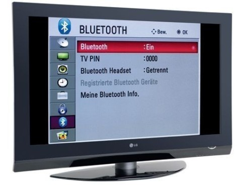 LCD-TV mit Bluetooth-Funktion