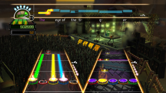 Musikspiel Guitar Hero World Tour: Band