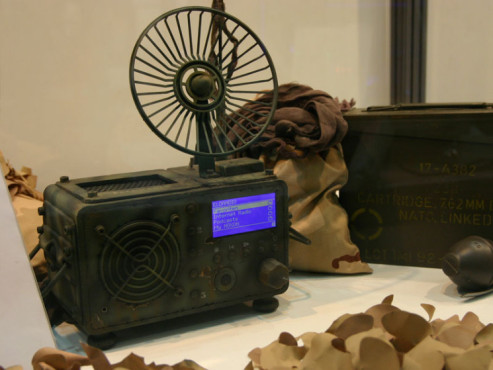 Digitalradio im Militär-Design