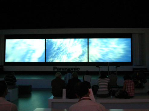 Videowall von Panasonic in Halle 5.2