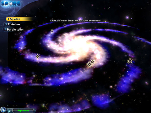 Simulation Spore: Galaxie