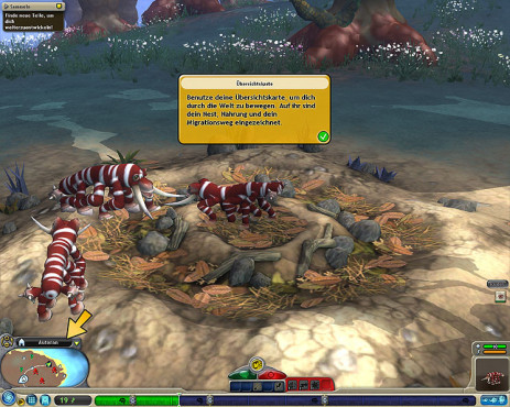 Simulation Spore: Wanderschaft
