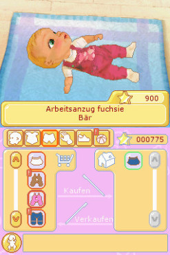 Simulation My Baby: Kleidung