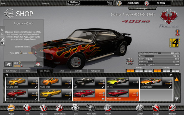 Level R: Muscle-Car © Gamigo