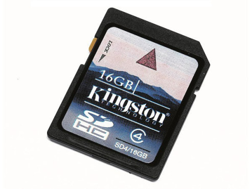 Kingston SDHC Class 4 16GB: Speicherkarte