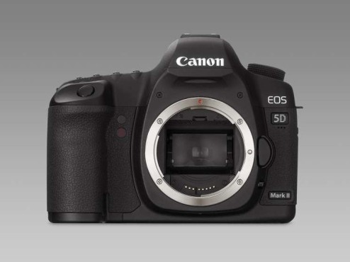 Canon EOS 5D Mark II: Body