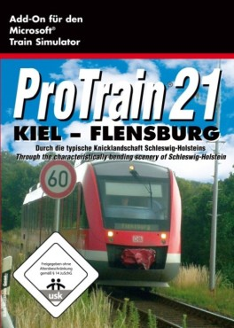 Simulation Pro Train 21 Kiel Flensburg: Packshot