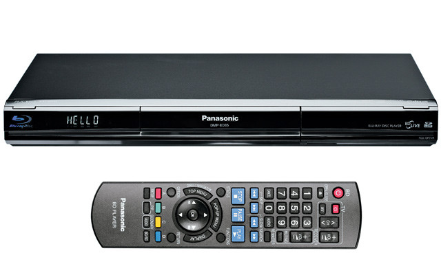test panasonic dmp bd35 blu ray player mit bd live. Black Bedroom Furniture Sets. Home Design Ideas