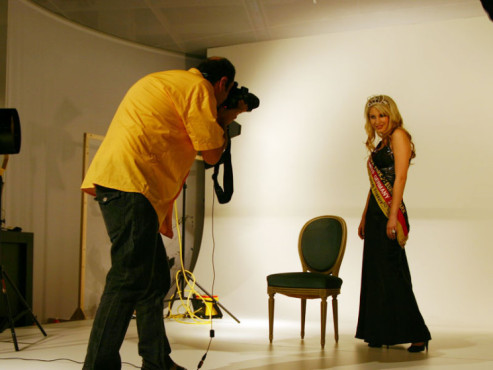 Fotoshooting Miss Germany