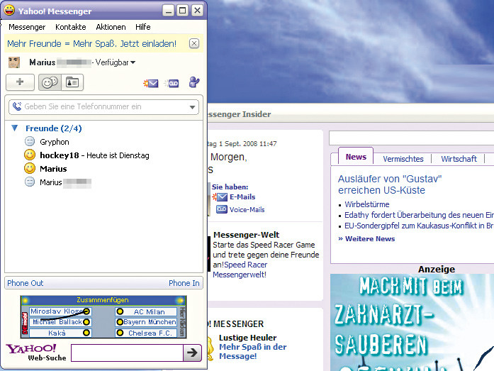 Yahoo Messenger Chat Rooms Are Back