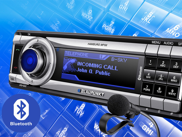 autoradio blaupunkt hamburg mp68 bluetooth. Black Bedroom Furniture Sets. Home Design Ideas