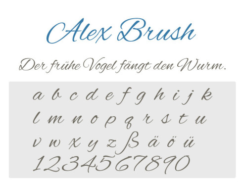 Alex Brush © COMPUTER BILD