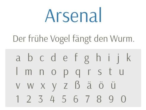 Font: Arsenal ©COMPUTER BILD