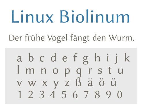 Font: Linux Biolinum ©COMPUTER BILD