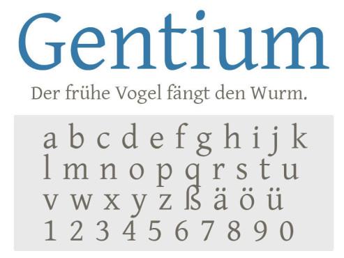 Gentium ©COMPUTER BILD
