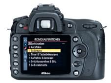 Nikon D90 Rückseite