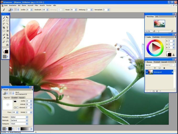 Artweave: Malprogramm Download - COMPUTER BILD