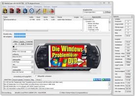 Screenshot 1 - MediaCoder PSP Edition