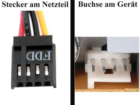 Bildergalerie �Die Stecker von Netzteilen� Diskettenlaufwerke