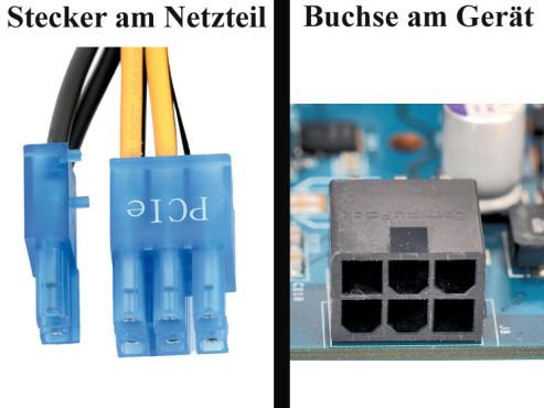 """Bildergalerie """"Die Stecker von Netzteilen"""" Grafikkarte"""