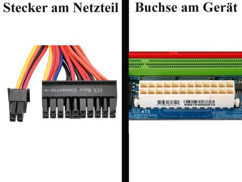 """Bildergalerie """"Die Stecker von Netzteilen"""" Hauptplatine"""