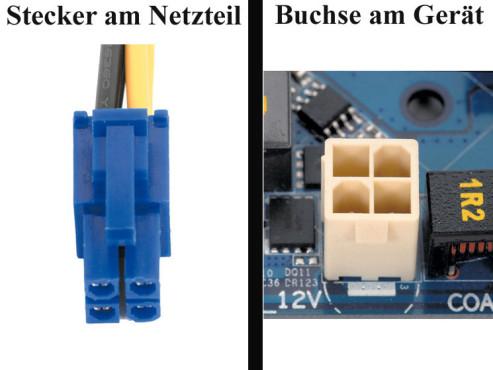 Bildergalerie �Die Stecker von Netzteilen� Prozessor