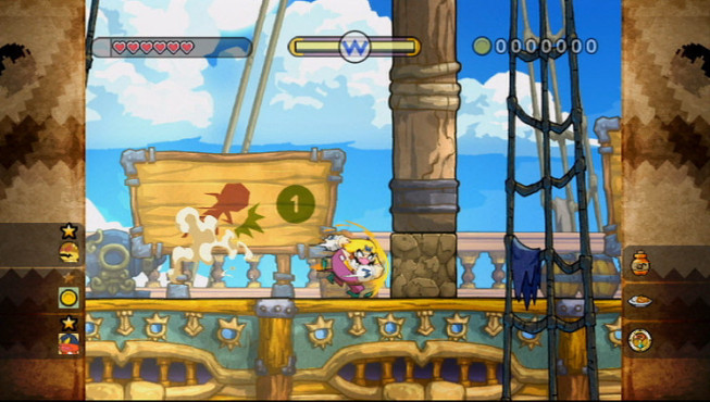 H�pfspiel Wario Land � The Shake Dimension