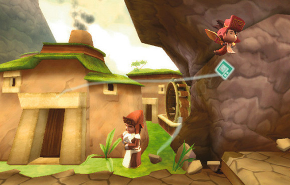 Downloadspiele für Wii: Lost Winds