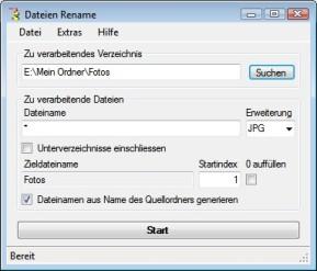 Dateien Rename