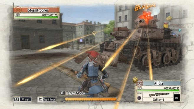 Actionspiel Valkyria Chronicles: Angriff
