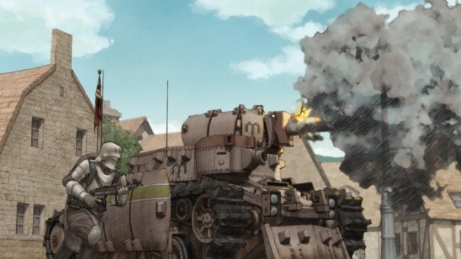 Actionspiel Valkyria Chronicles: Panzer