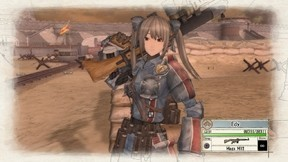 Actionspiel Valkyria Chronicles: Waffe