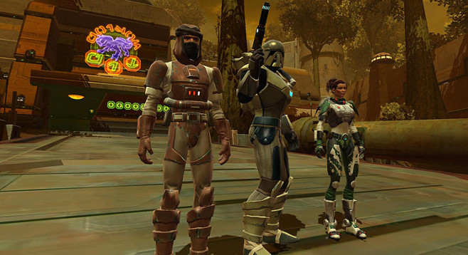 Rollenspiel Star Wars � The Old Republic: Gruppe © Electronic Arts