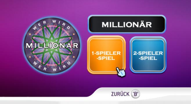 Quizspiel Wer wird Millionär 2: Mehrspieler