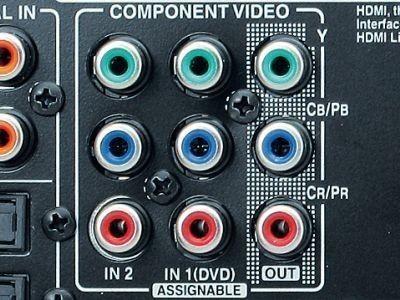 AV-Receiver: DVD-Spieler ohne HDMI anschließen ©COMPUTER BILD