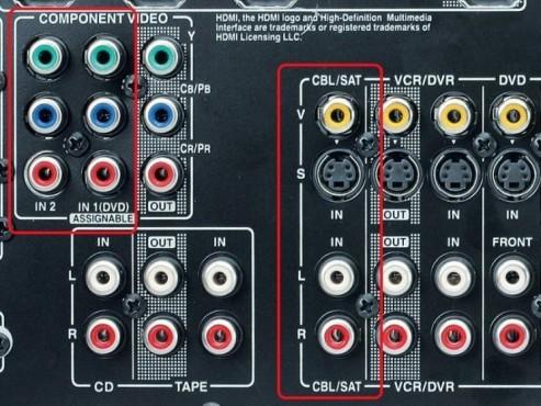 AV-Receiver: Digital-TV-Empfänger verbinden ©COMPUTER BILD