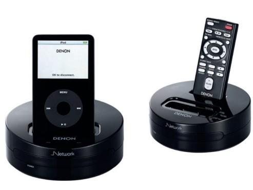 iPod-Dock für den AV-Receiver ©Denon