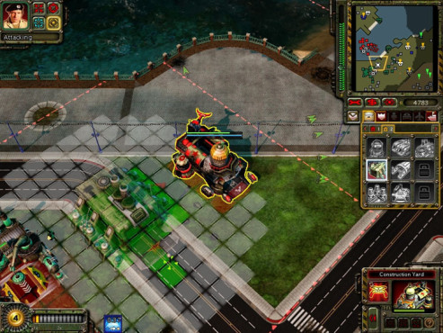 Strategiespiel Command & Conquer - Red Alert 3: Baustelle