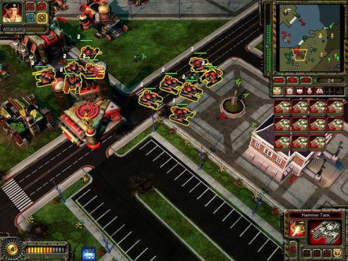 Strategiespiel Command & Conquer - Red Alert 3: Raketenwerfer