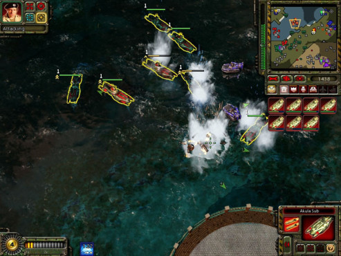 Strategiespiel Command & Conquer - Red Alert 3: Seeschlacht