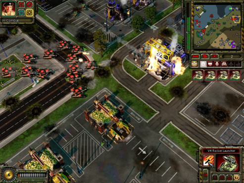 Strategiespiel Command & Conquer - Red Alert 3: Stellungen