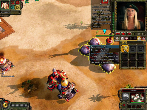 Strategiespiel Command & Conquer – Alarmstufe Rot 3: Insel