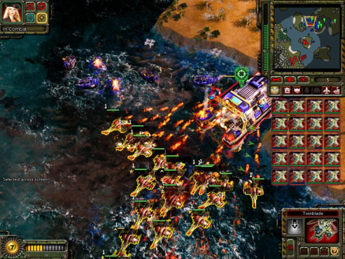 Strategiespiel Command & Conquer – Alarmstufe Rot 3: Marine